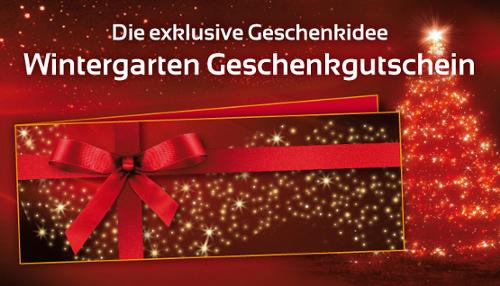 im winter in den wintergarten weihnachten in berlin. Black Bedroom Furniture Sets. Home Design Ideas