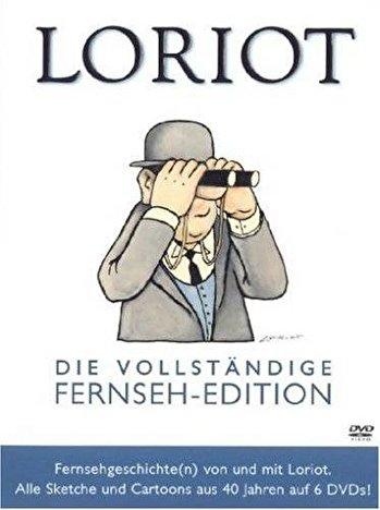 Loriot Weihnachten.Loriot Vollstandige Fernseh Edition Auf 6 Dvds
