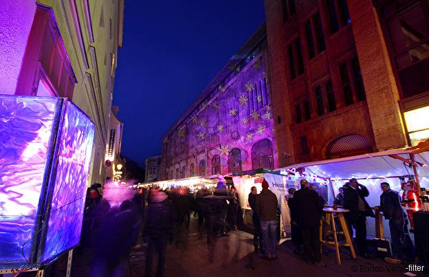 Pinker Weihnachtsmarkt.Umwelt Und Weihnachtsmarkt In Der Sophienstrasse