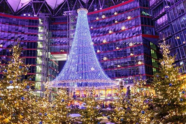Bilder Von Weihnachten.Fabelhafte Weihnachtswelt Im Sony Center Weihnachten In Berlin