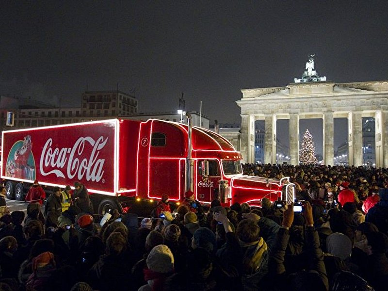 Coca Cola Truck Berlin 2021