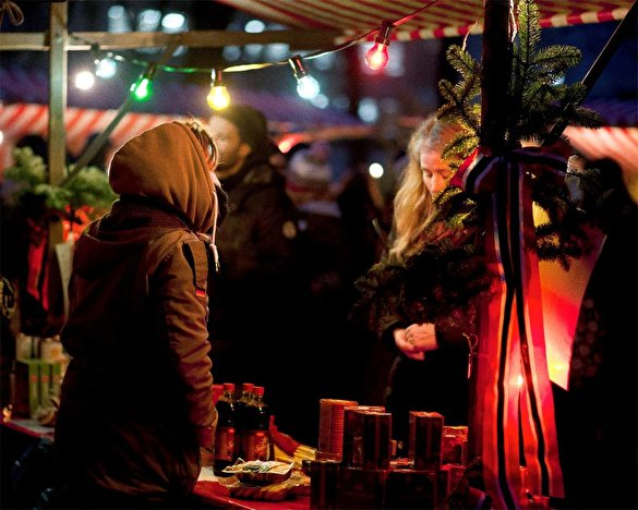 Norwegischer Weihnachtsmarkt Weihnachten In Berlin